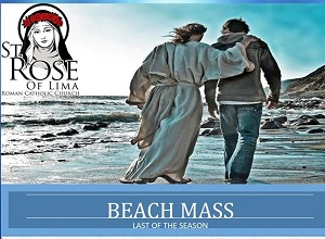 Mass at Florence Beach