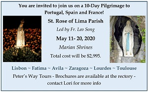Parish Marian Pilgrimage