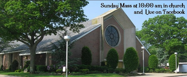 Sunday Mass Live on Facebook at 10am