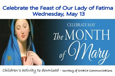 Our Lady of Fatima Activity for Children