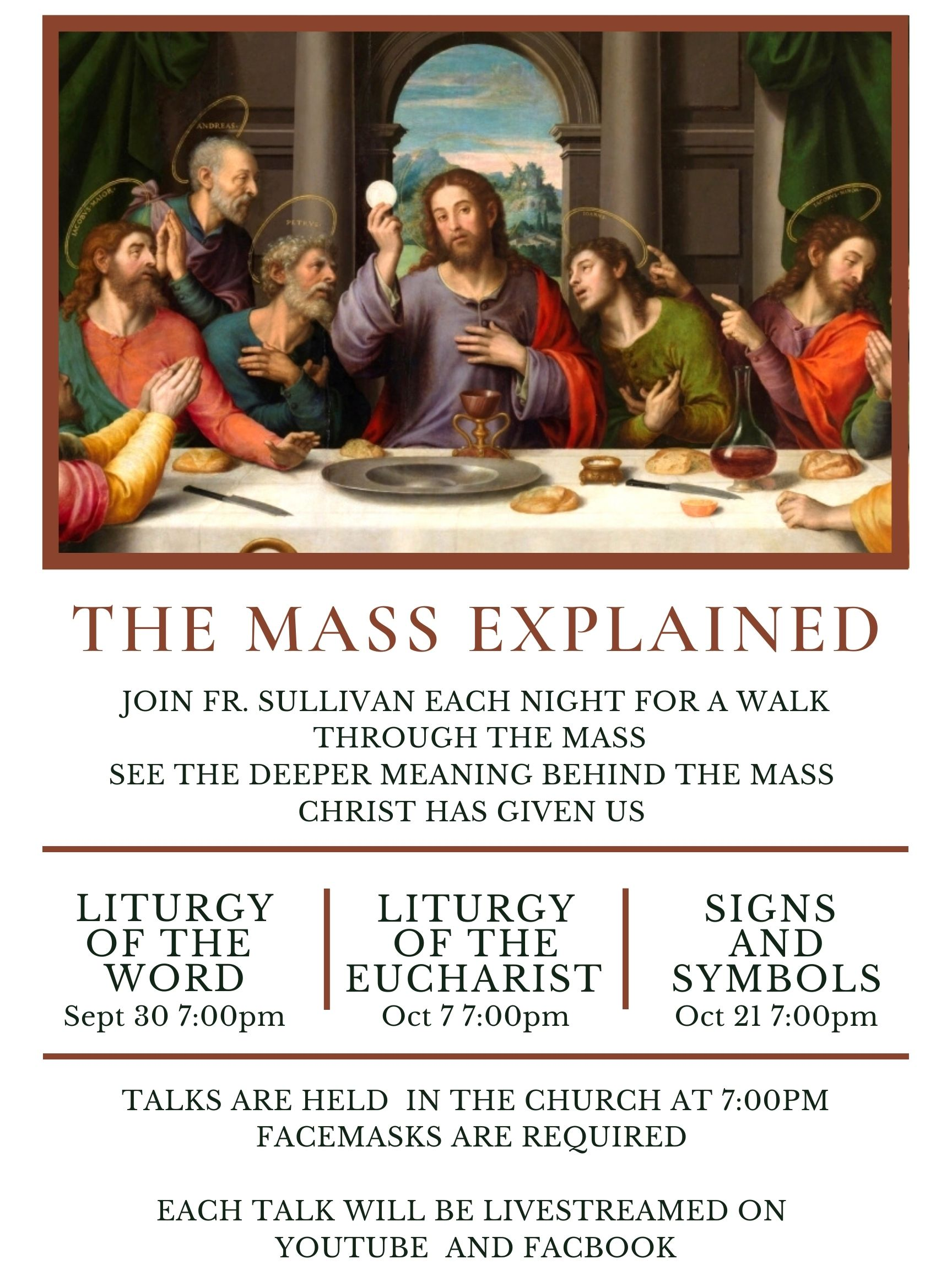 The mass explained 2020
