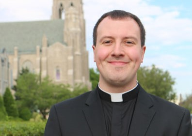 Welcome Fr. Christopher Sullivan