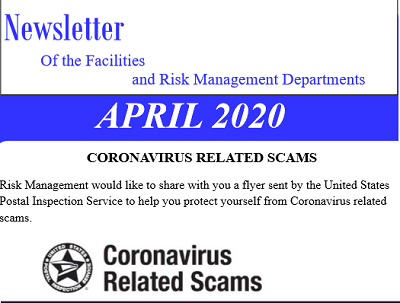 Coronavirus related scams