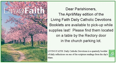 Living Faith Booklets available
